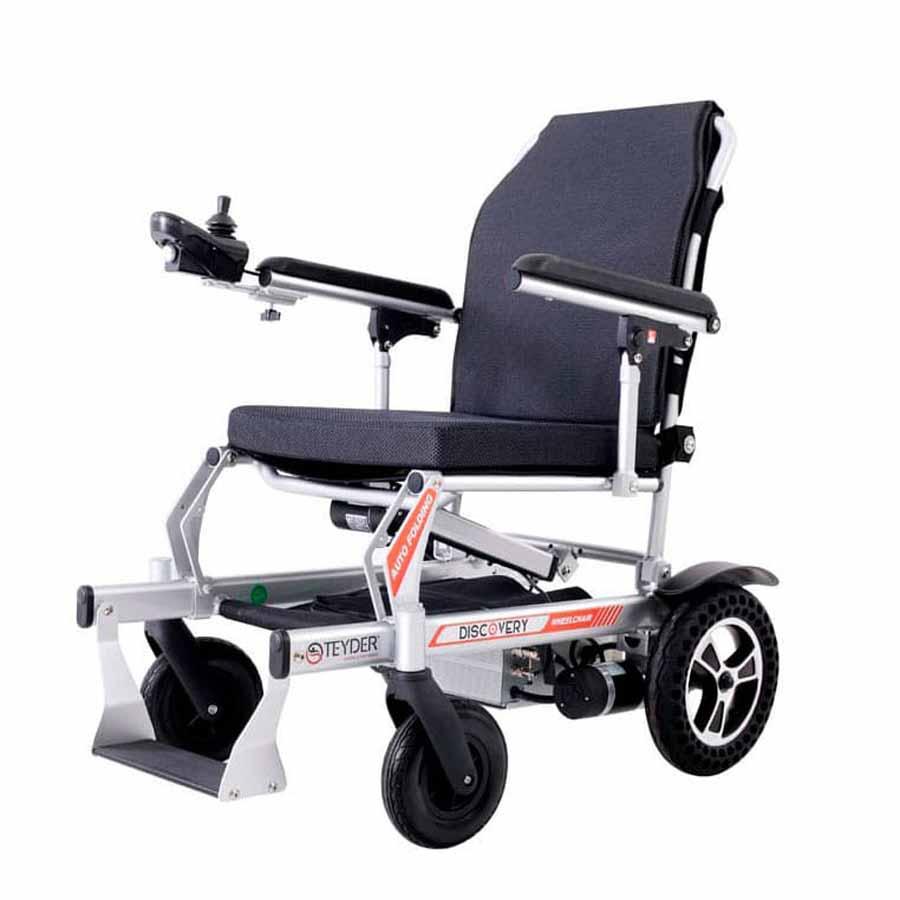 Cadira de rodes elèctrica plegable Discovery